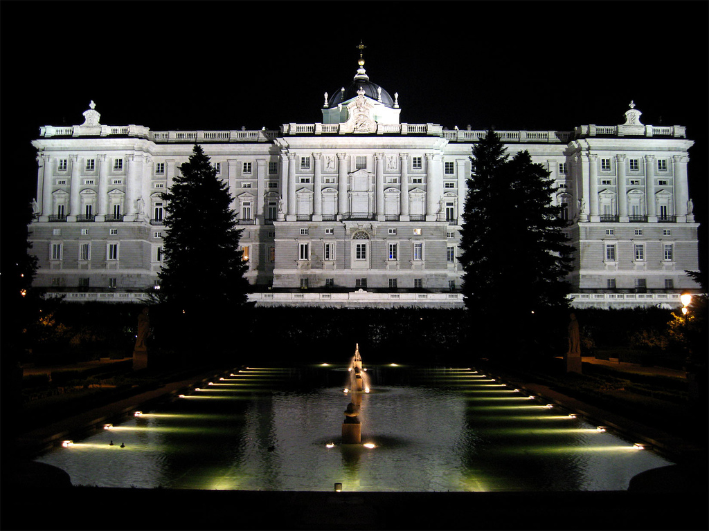 Description Jardines De Sabatini  Madrid  06