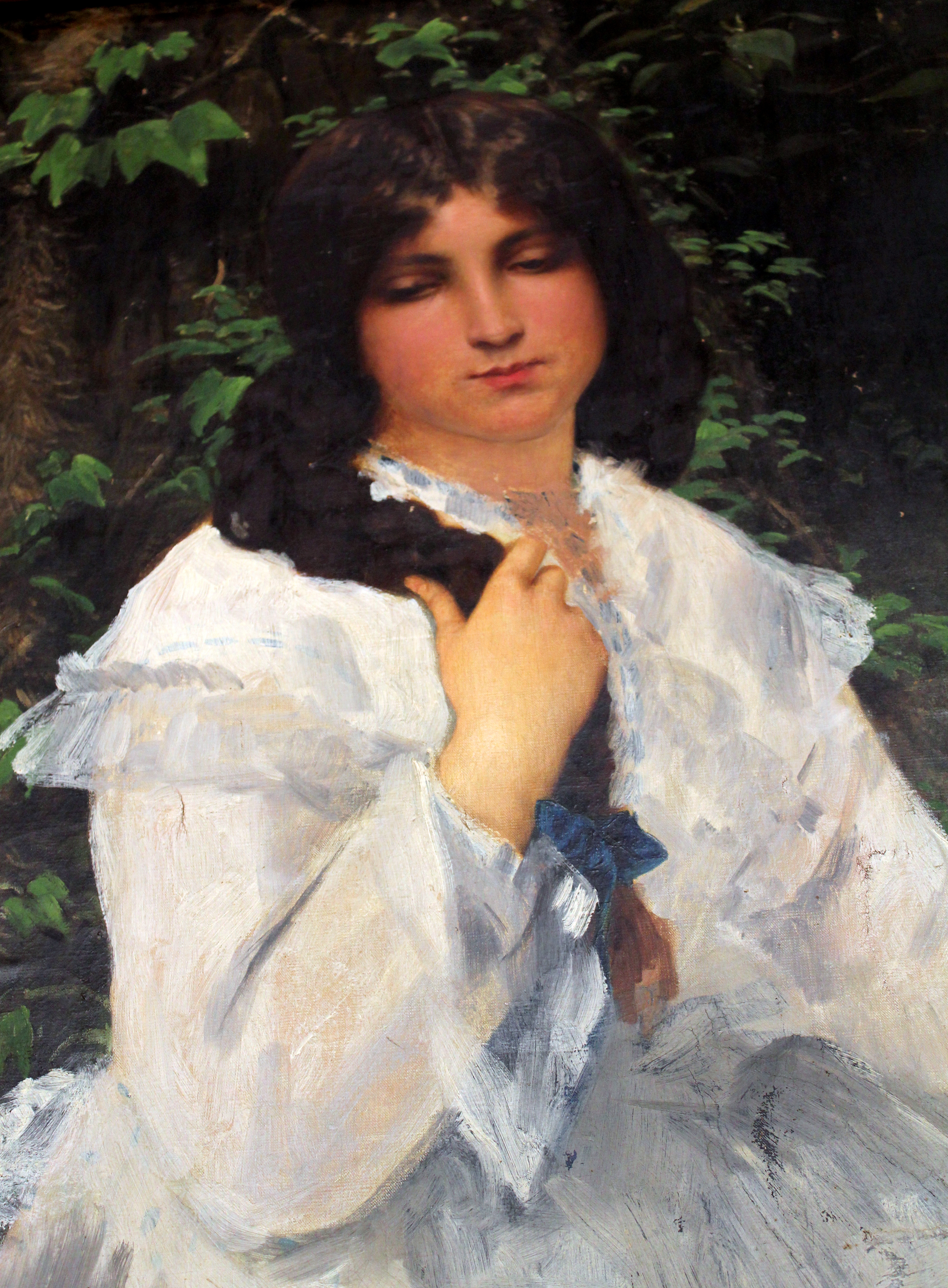 Reve femme robe blanche