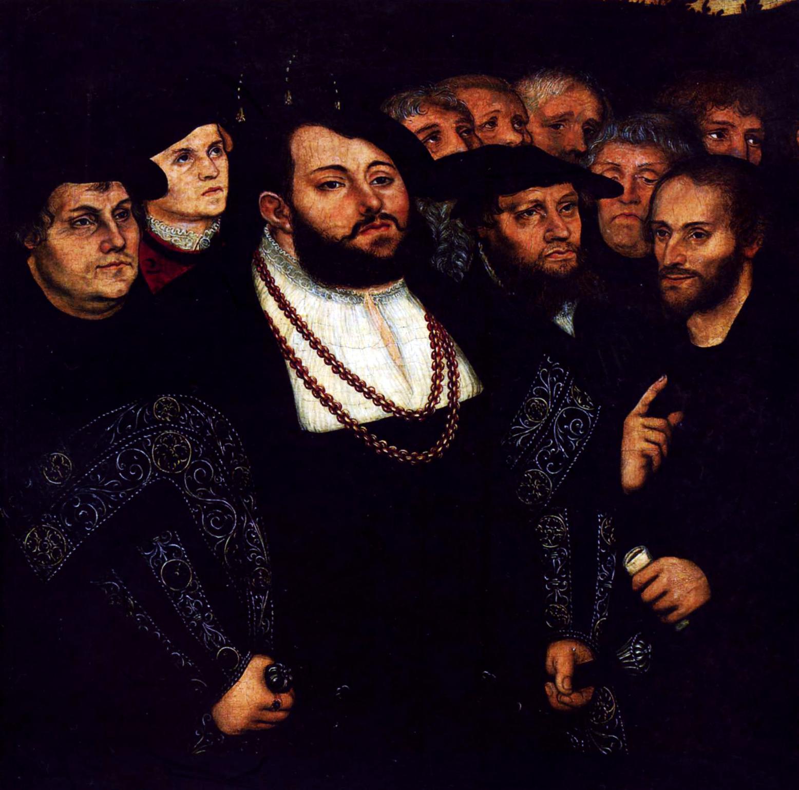 File Johann Friedrich And Luther Jpg Wikimedia Commons