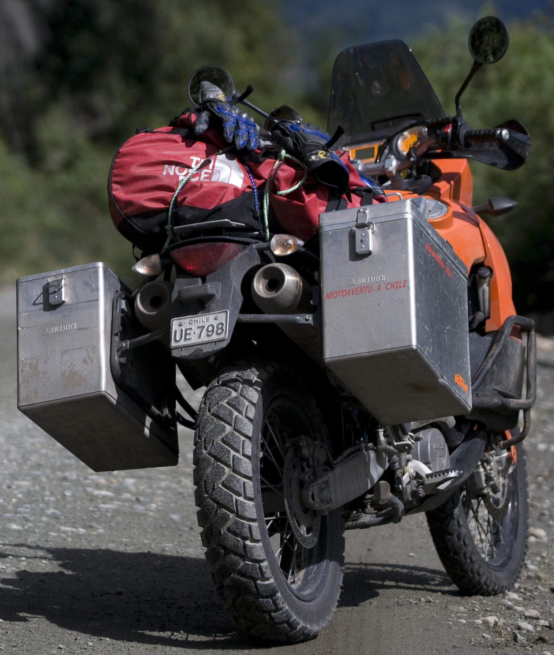 Adventure Motorcycle Ktm