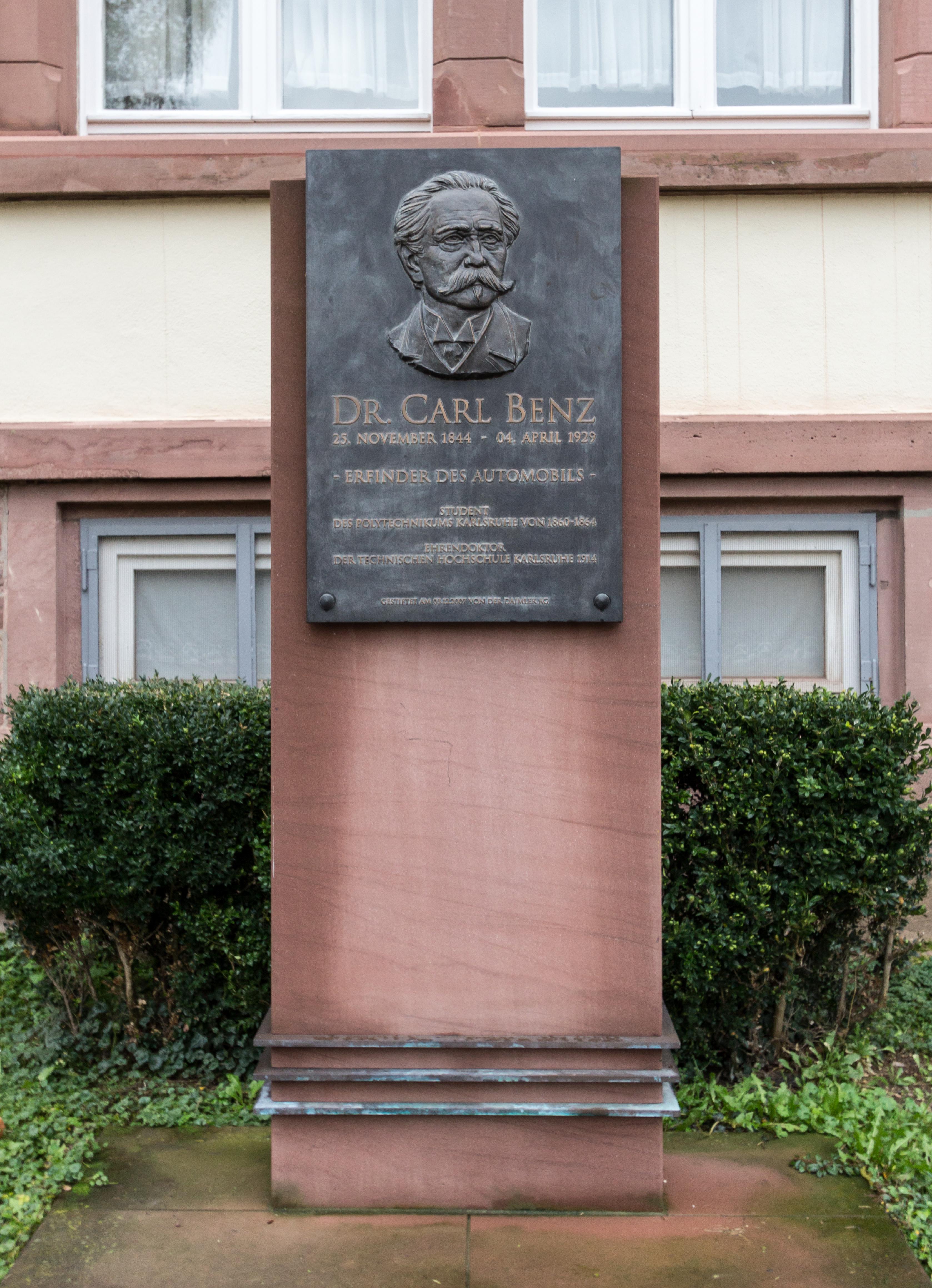Carl Benz Karlsruhe