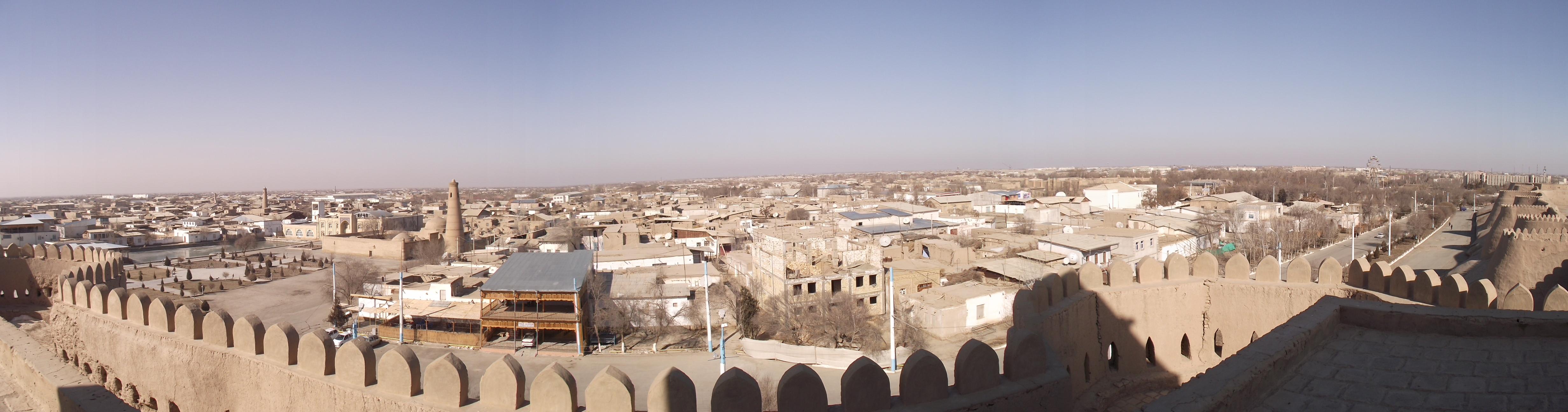 Description khiva узбекистан panorama2 jpg