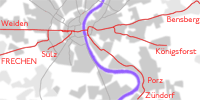 East-West network