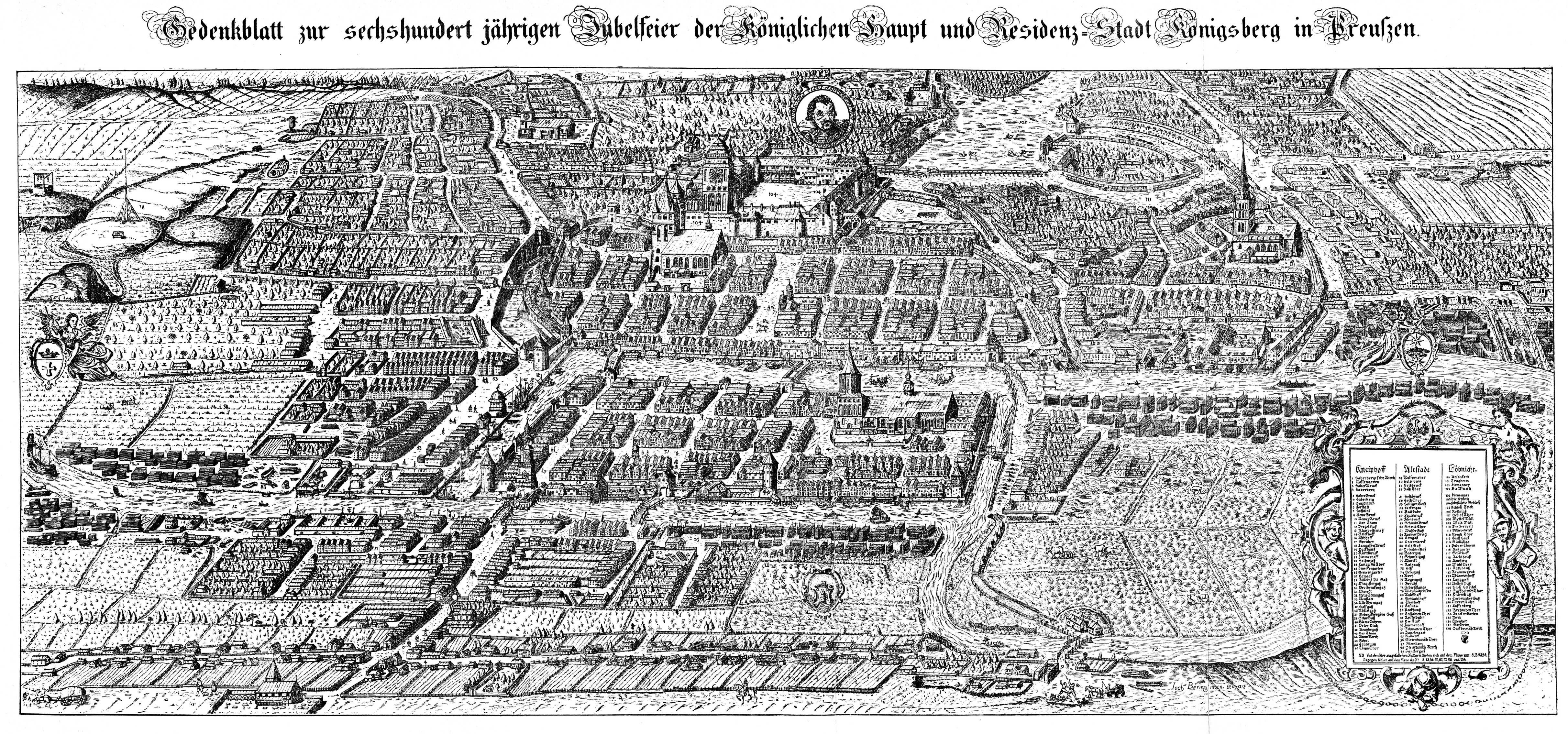 File:Koenigsberg, Map by Bering 1613.jpg