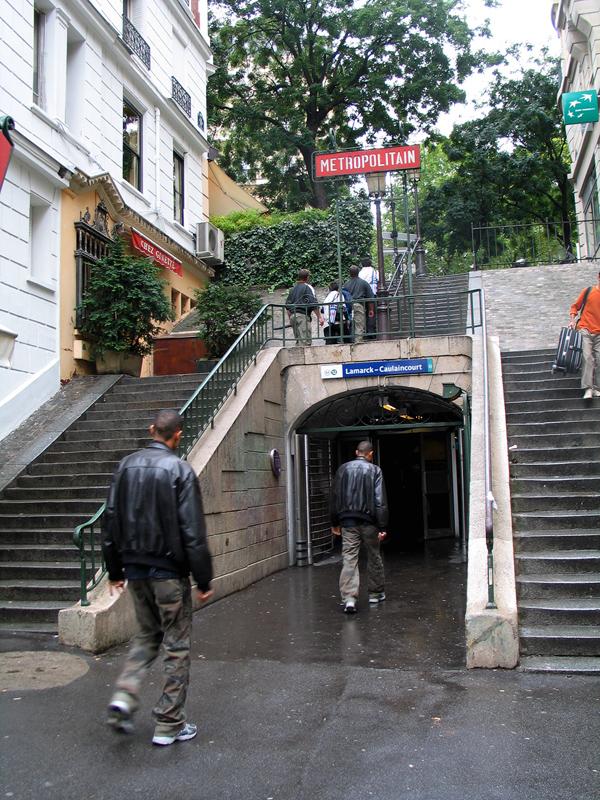 Lamarck – Caulaincourt (stanice metra v Paříži)