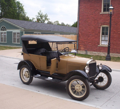 Ford Model T - the first commercially available flex fuel vehicle