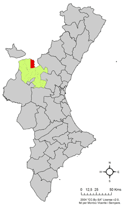Municipal location in Valencia