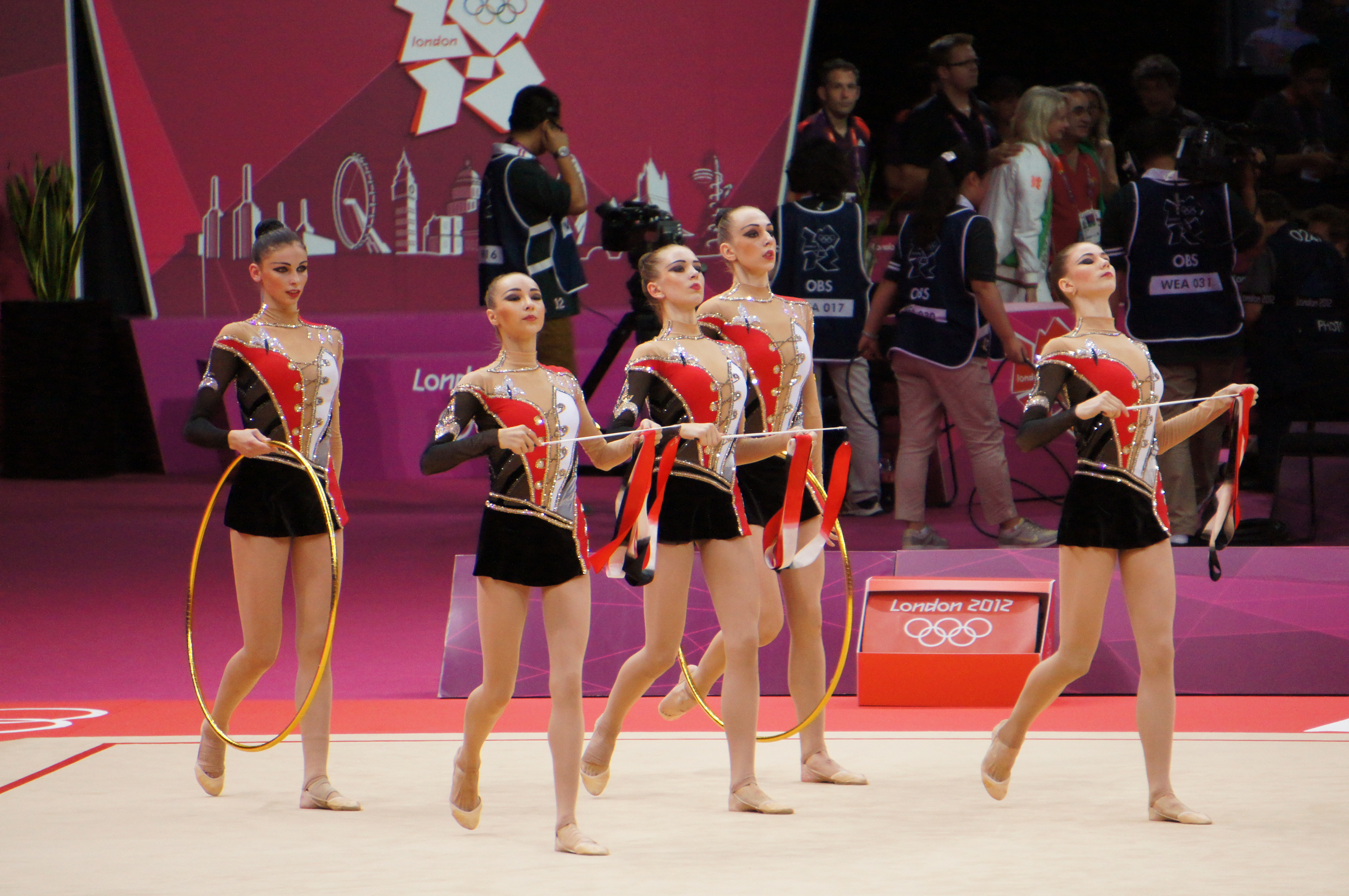 File:London 2012 Rhythmic Gymnastics - Ukraine.jpg - Wikimedia Commons