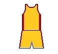 Maillot orange du Limoges CSP, de 1993 à 1996 (6).jpg