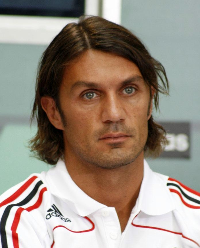 The 48-year old son of father Cesare Maldini and mother Maria Luisa Maldini, 185 cm tall Paolo Maldini in 2017 photo
