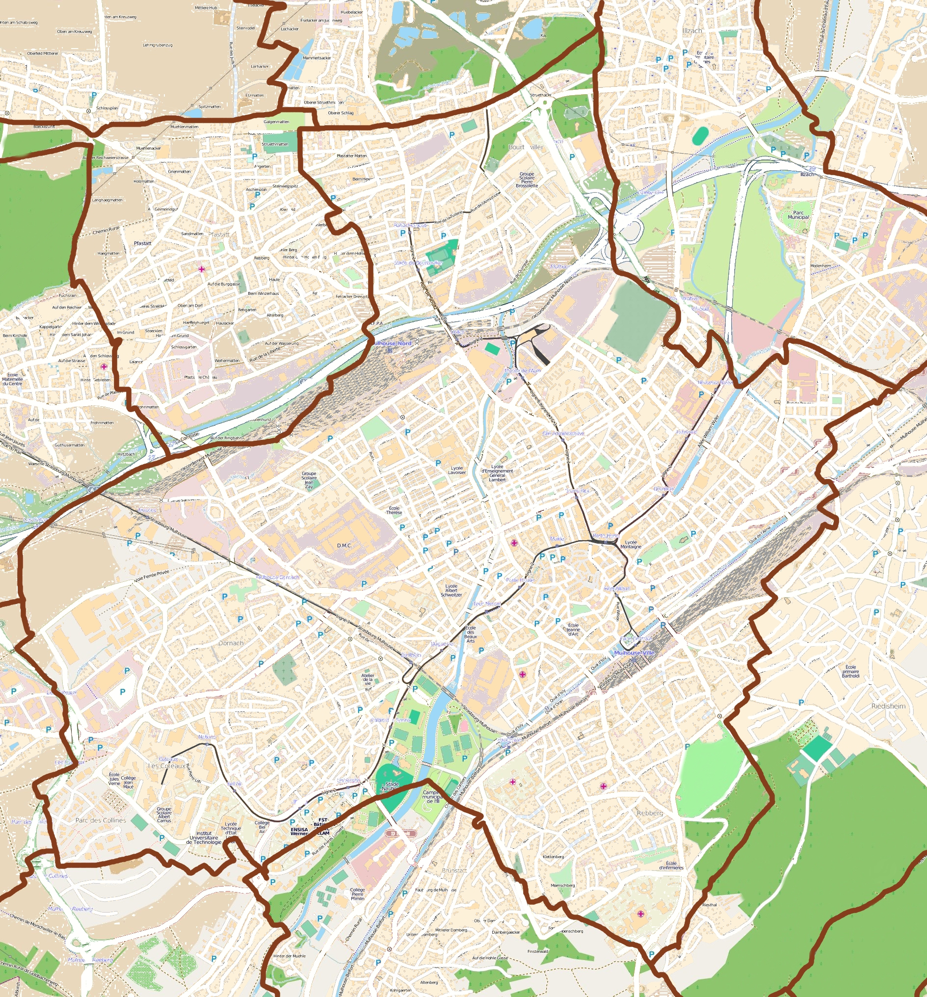 FileMap Mulhousejpg Wikimedia Commons