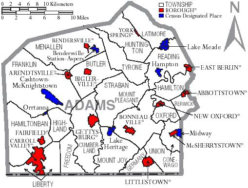 Adams County Pennsylvania Wikiwand