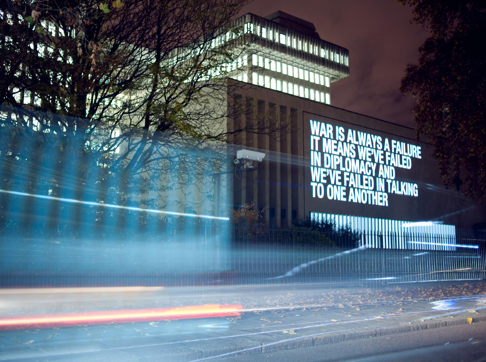 The Line Art Walk London : File:martin firrell public art text for the household division of