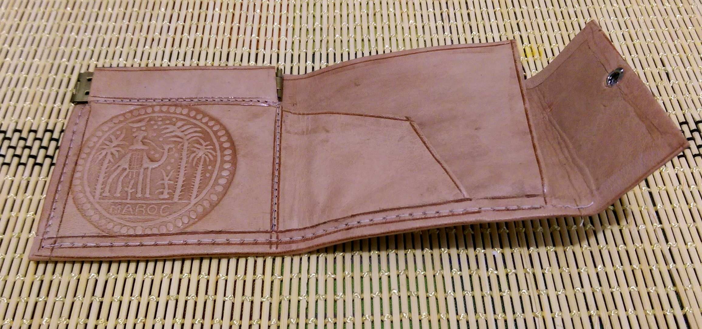 Image result for leather working wallet