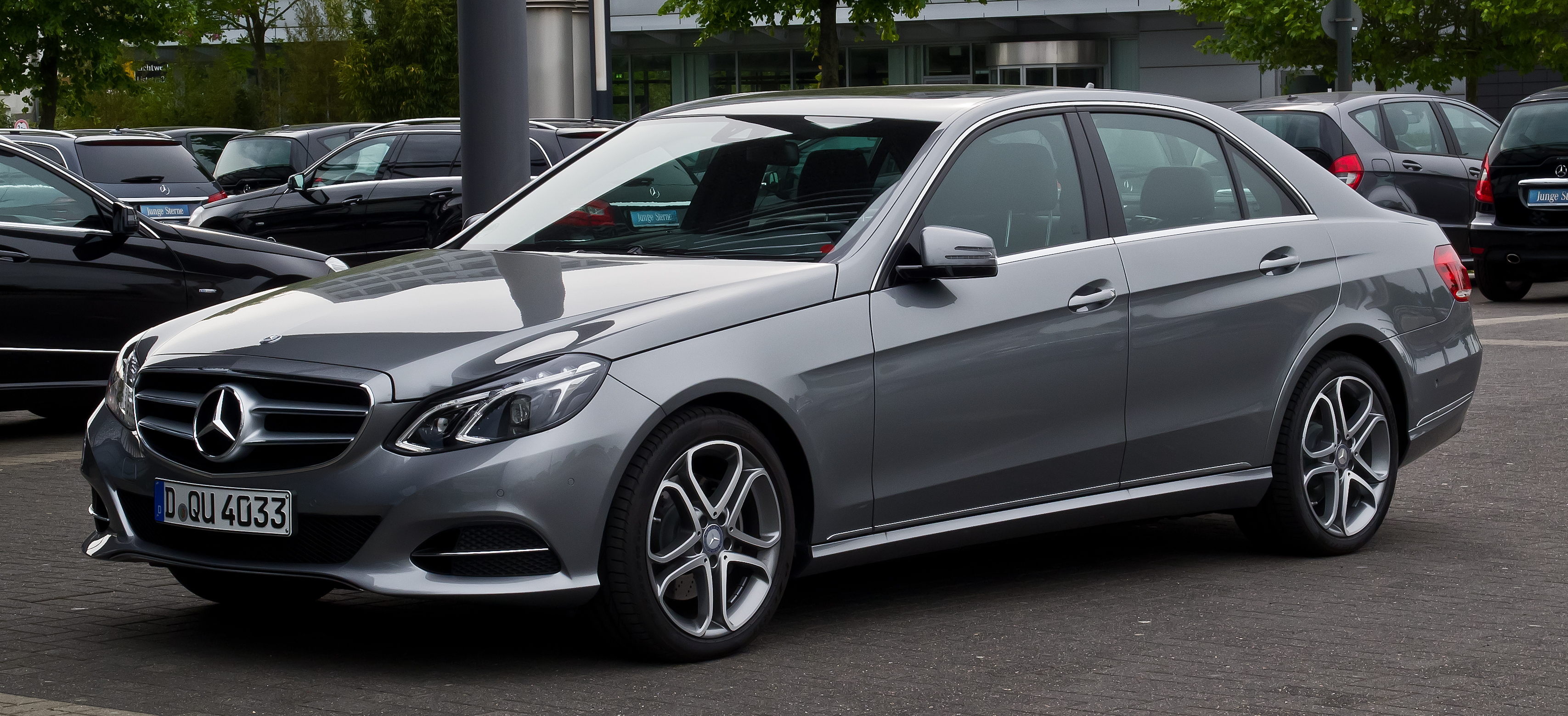 Mercedes-Benz E-Class (W212) - Wikipedia, the free encyclopedia