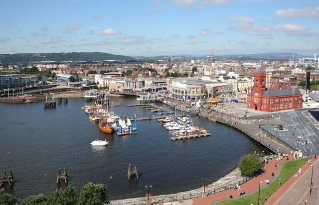 Mermaid Quay and Pierhead Building, Cardiff Bay - geograph.org.uk - 752977.jpg