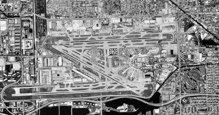 miami global airport maps, auto rental & resort details