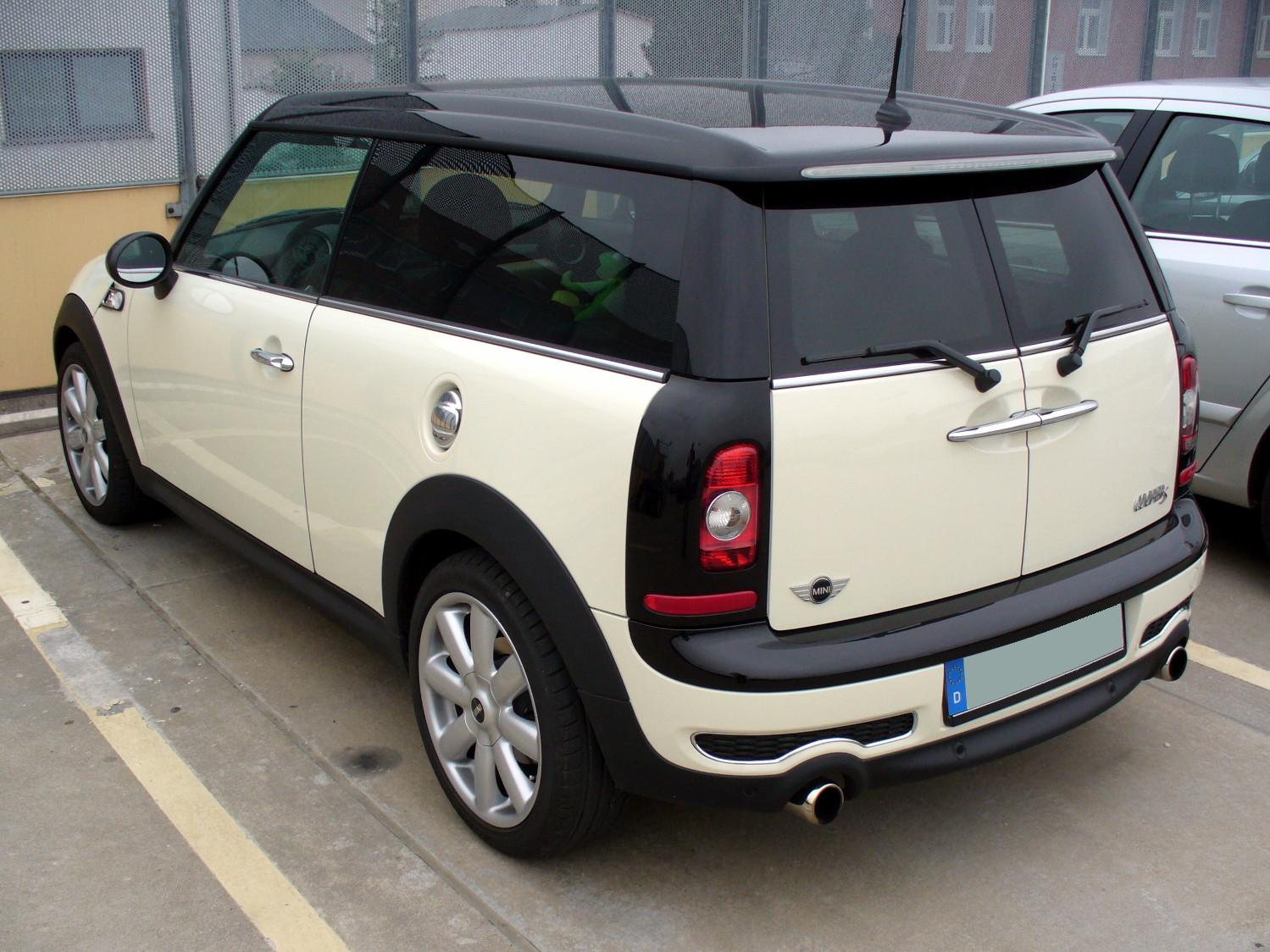 datei mini cooper s clubman pepperwhite heck jpg wikipedia. Black Bedroom Furniture Sets. Home Design Ideas