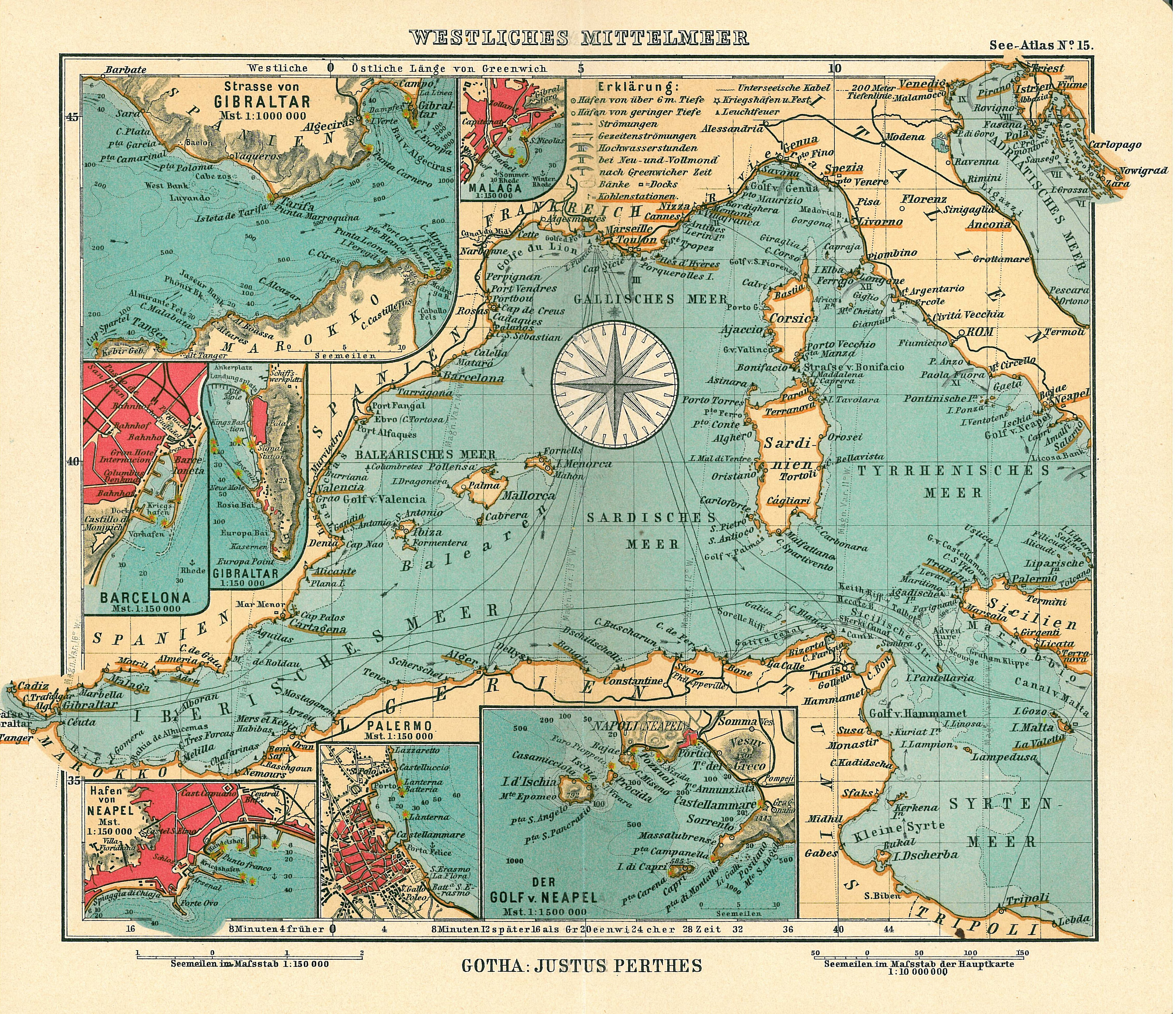 Cartina Geografica Mediterraneo Occidentale.Mediterraneo Occidentale Wikipedia