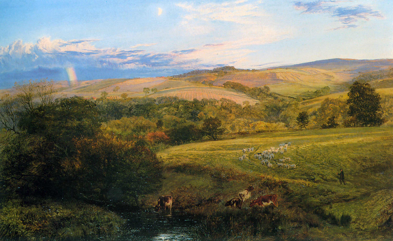 K Adams Oil Painting