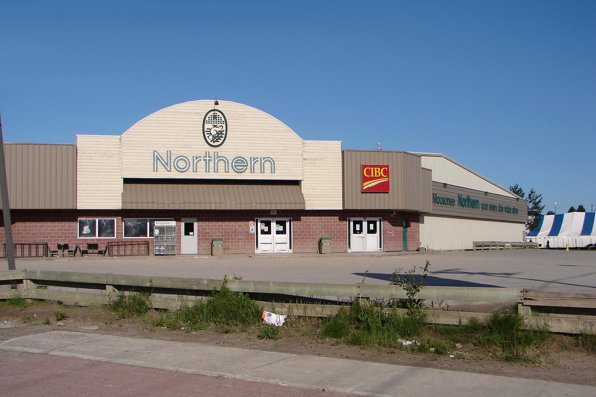File:Moosonee Northern store.JPG