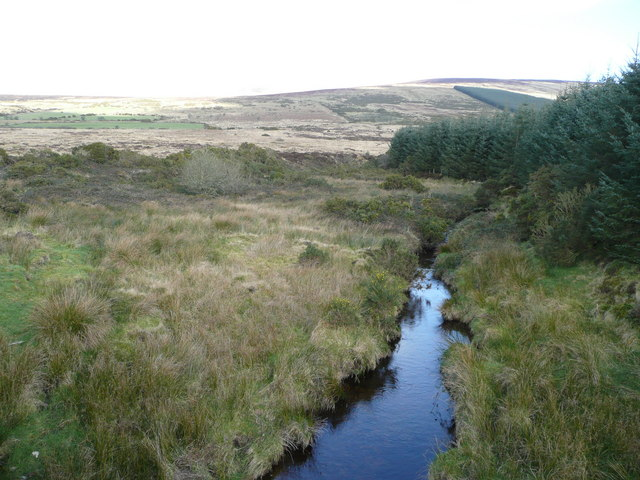 File:Mountain stream at Ballinguile - geograph.org.uk - 708658.jpg