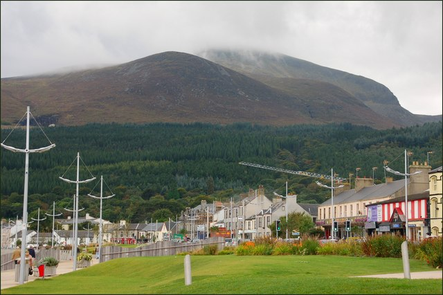 Newcastle and the Mournes - geograph.org.uk - 562181