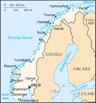 Norges Geografi Wikipedia