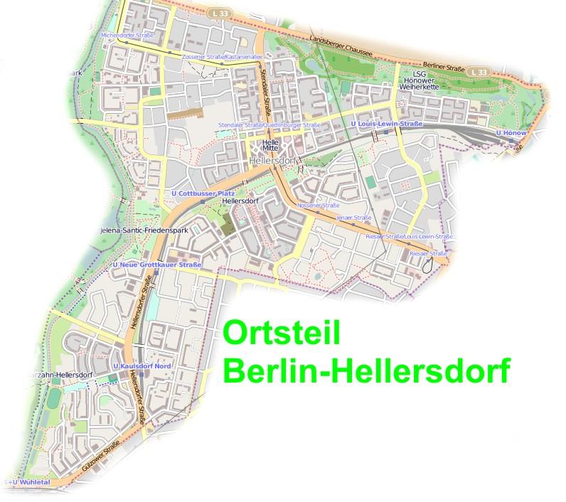 Liste Der Stra En Und Pl Tze In Berlin Hellersdorf Wikiwand