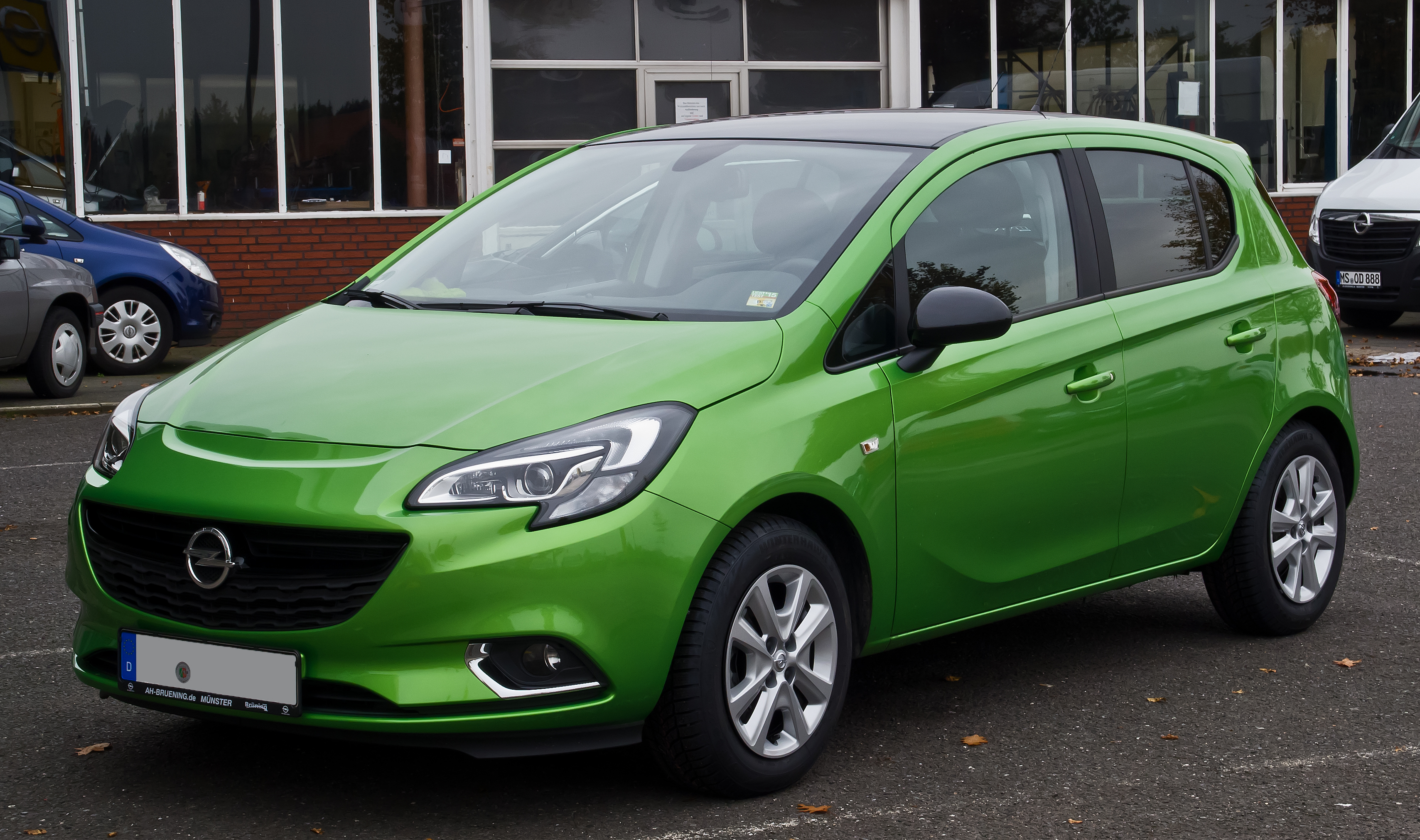 fileopel corsa 14 turbo ecoflex color edition e frontansicht 24 - Opel Corsa Color Edition 2015
