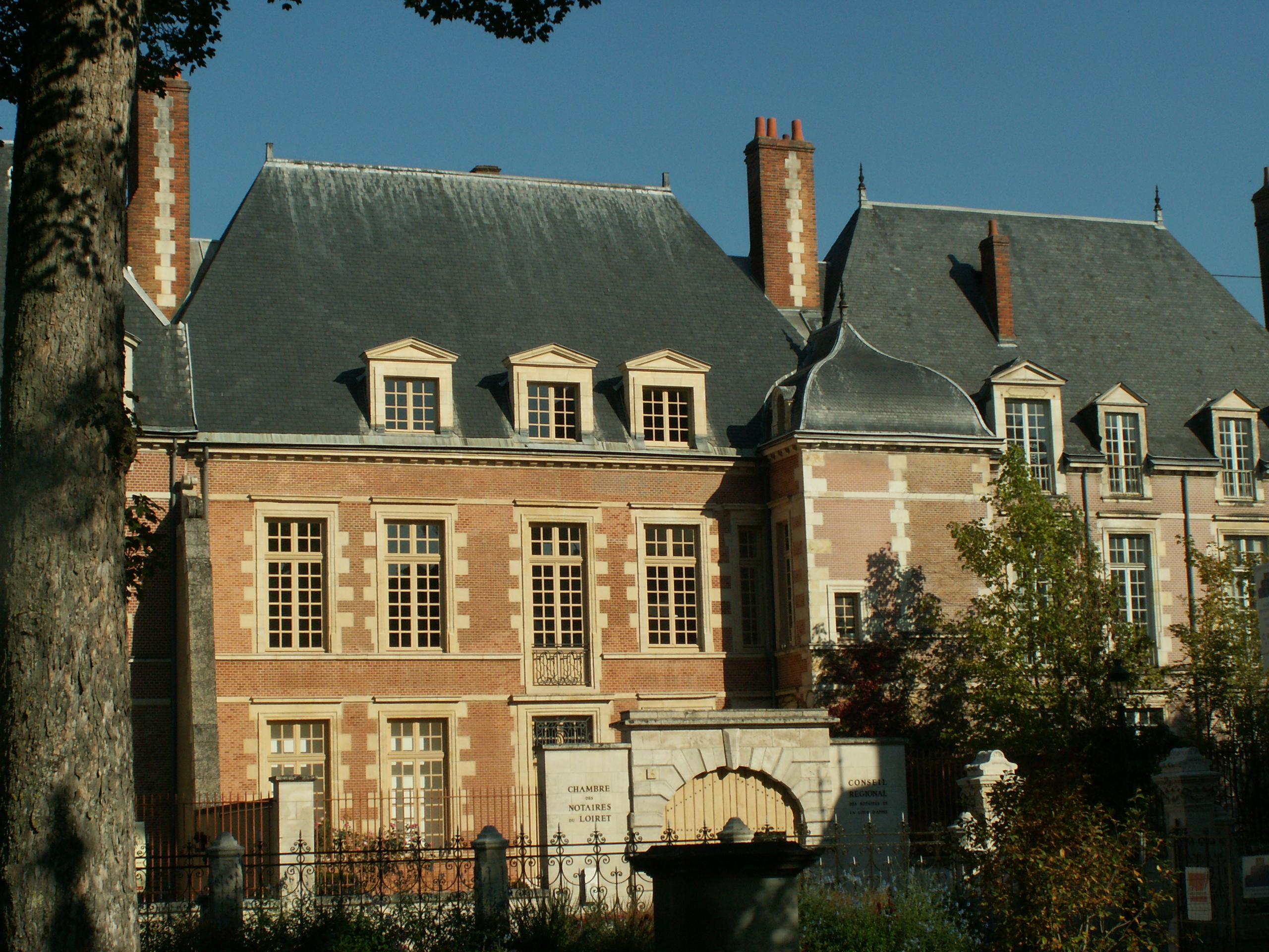 File pa00098908 chambre des notaires du loiret 6 rue d for Chambre de notaire du quebec