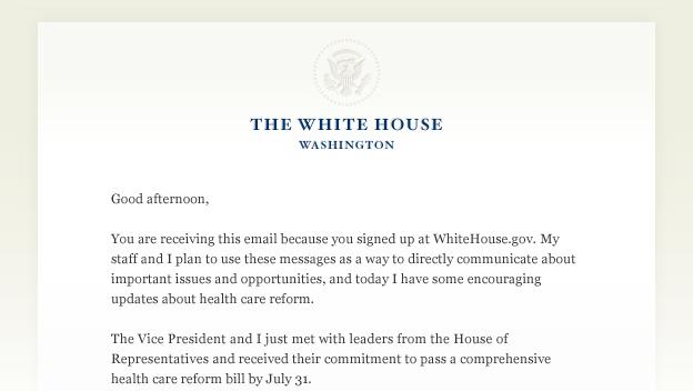 Barack Obama Email Hot Dogs