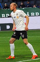 Patrik Haginge Swedish footballer