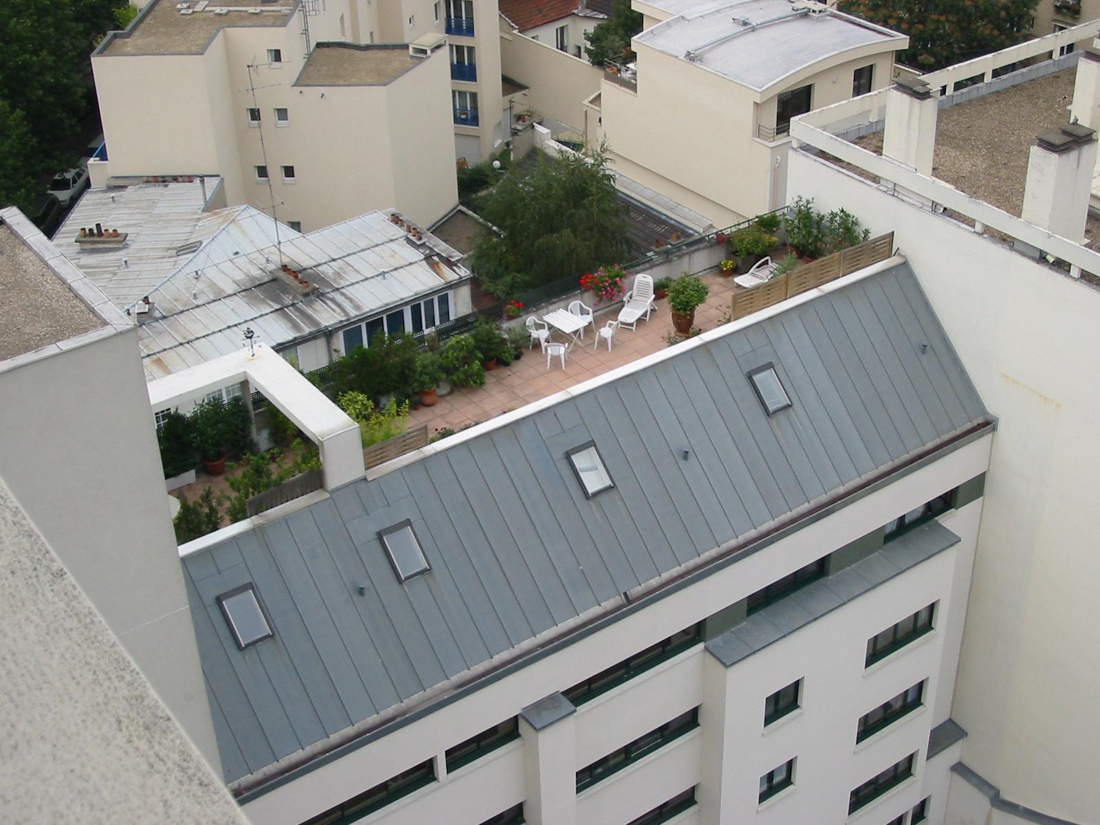 Toit terrasse toit terrasse sur enperdresonlapin for Toit terrasse en bois