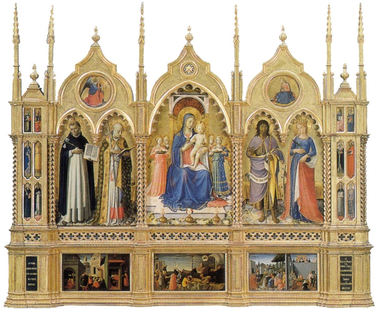 File Perugia Altarpiece Angelico Jpg Wikimedia Commons