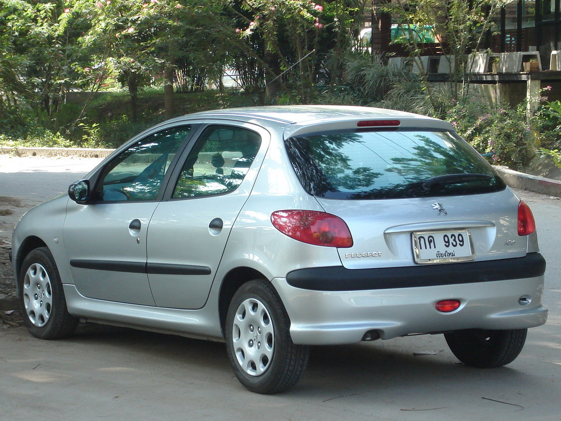 File Peugeot 206 4 Jpg Wikimedia Commons
