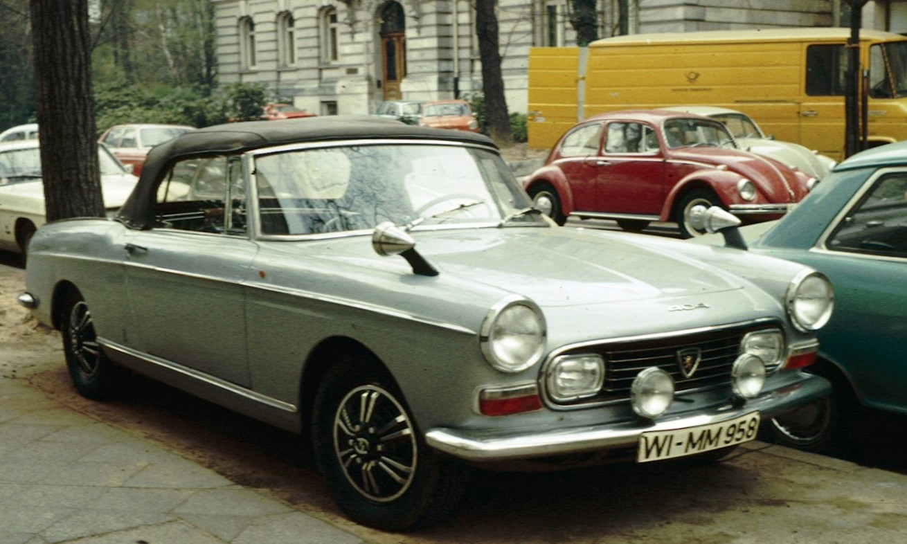 file peugeot 404 cabriolet wikipedia. Black Bedroom Furniture Sets. Home Design Ideas