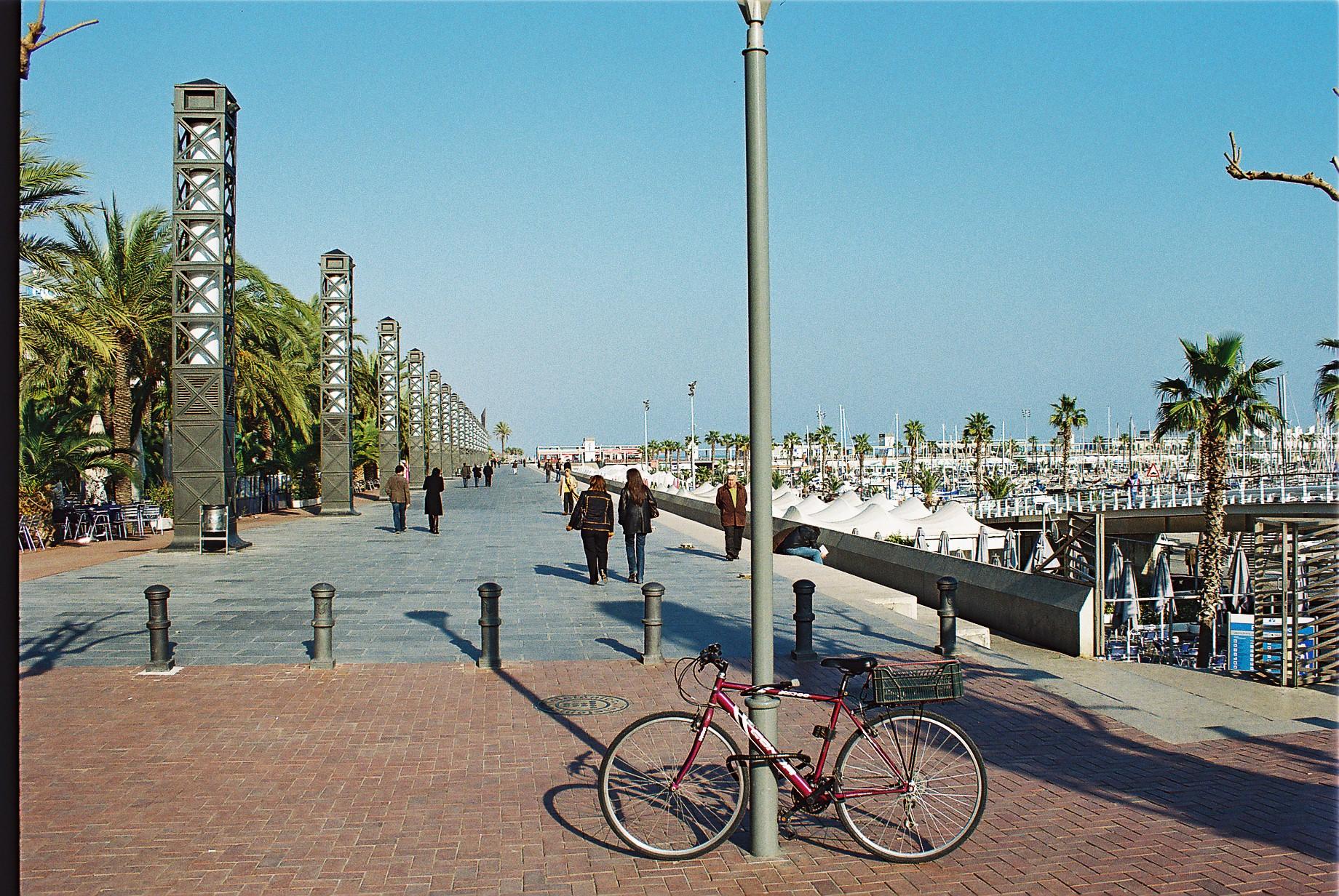 barcelona port olimpic: