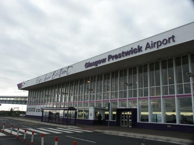 Port lotniczy Glasgow-Prestwick – Wikipedia, wolna encyklopedia