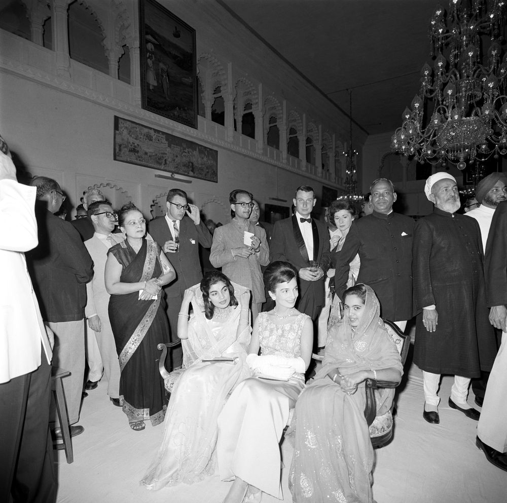 File:Princess Lee Radziwill Attends Reception In Udaipur