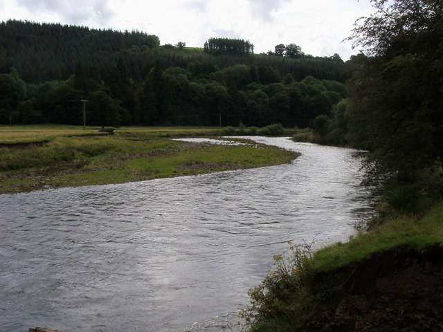 River Usk - geograph.org.uk - 939033