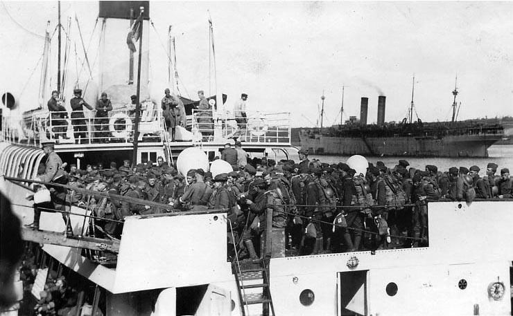 File Ss Traffic In Brest France 1919 Port Quarter View