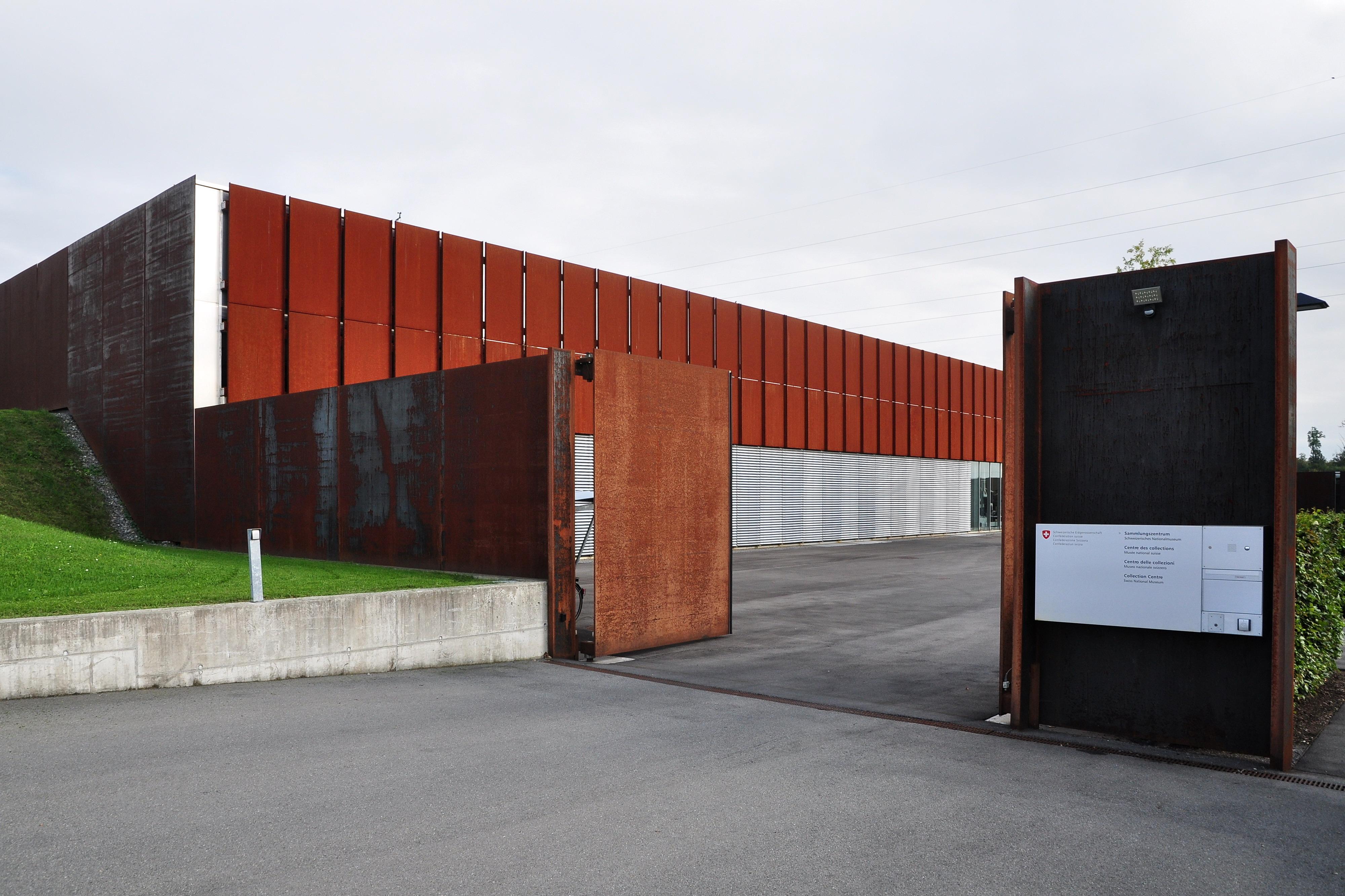 File sammlungszentrum des schweizerischen nationalmuseums for Innendekoration affoltern am albis