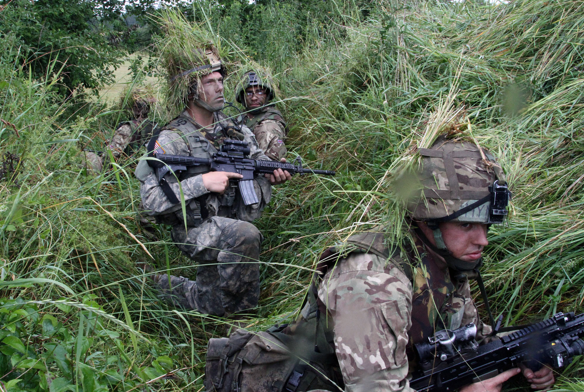 British & US Army Cadets – Leadership Development Training – Germany