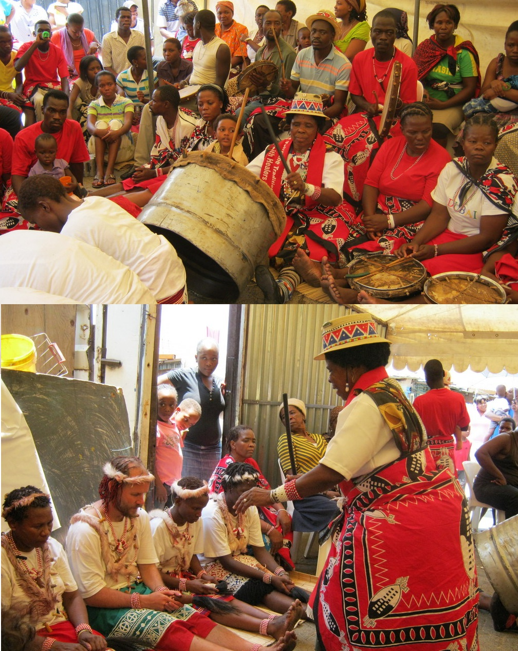 File:Sangoma Initiates being greeted and welcomed.jpg ...