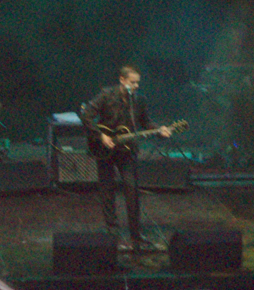 En 2006, en una actuación presentando el disco ''Las malas lenguas''.