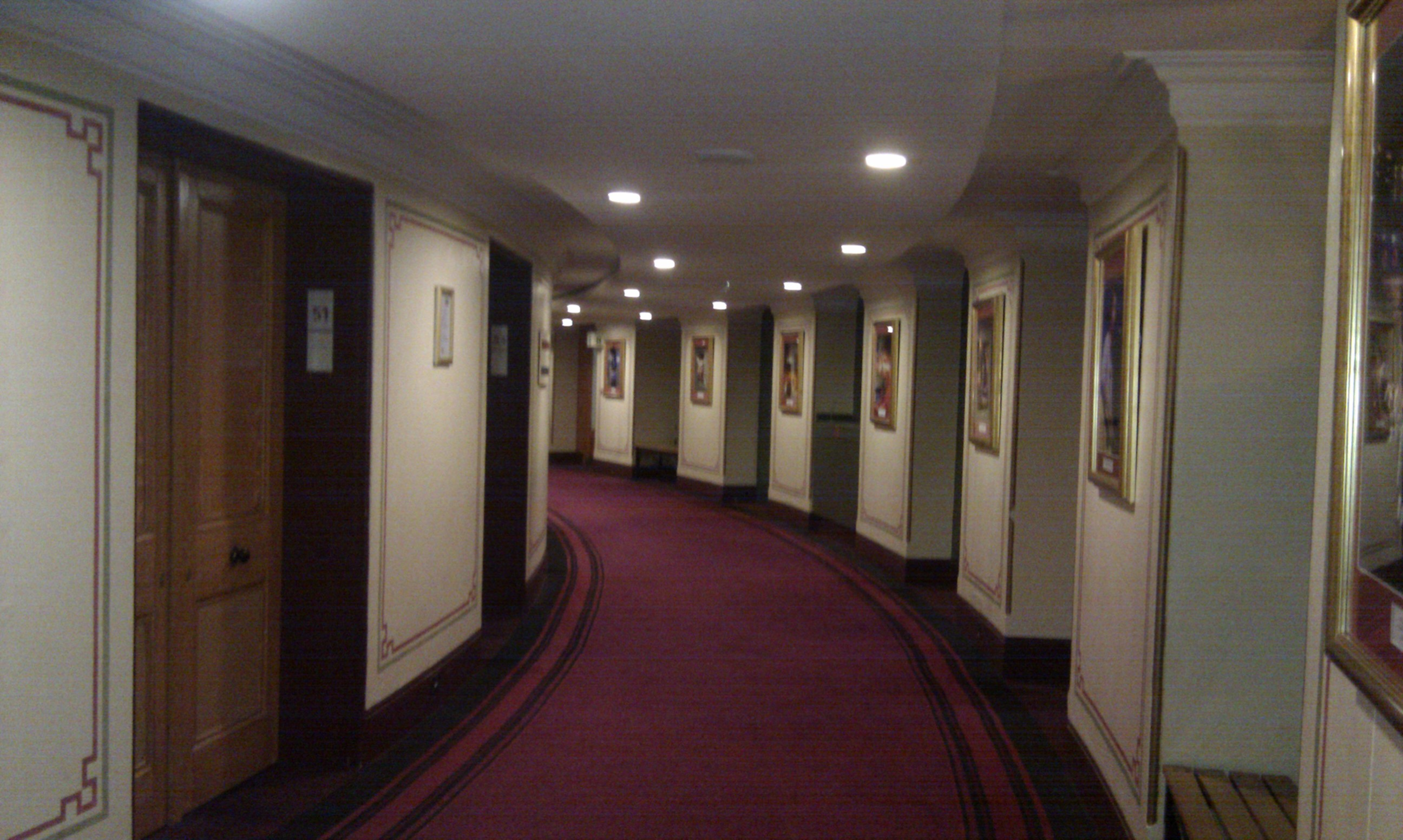 What 39 s the difference between corridor path lane and for Door 12 royal albert hall