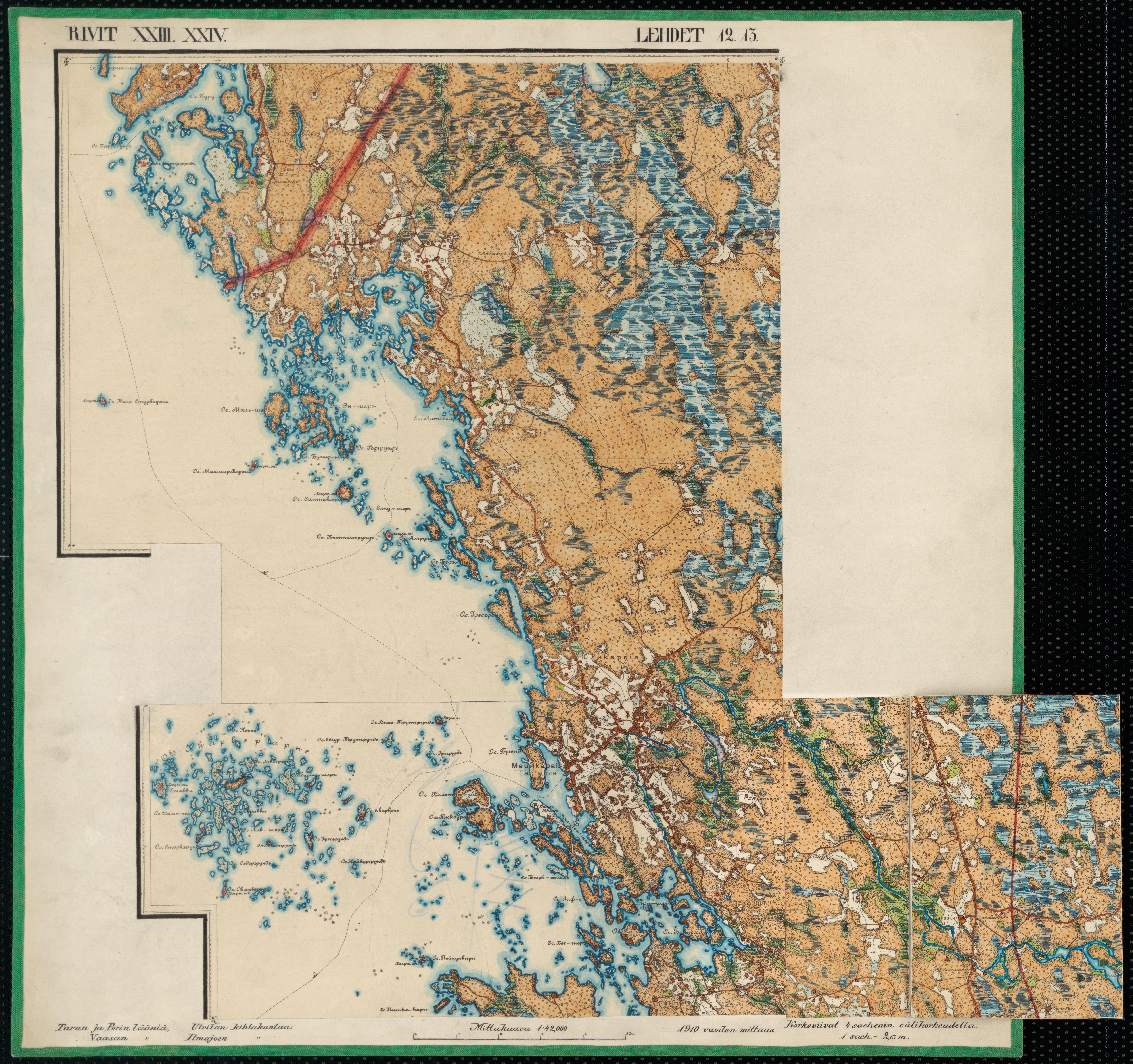 File Senate Atlas 1870 1907 Sheet Xxiii Xxiv 12 13 Merikarvia