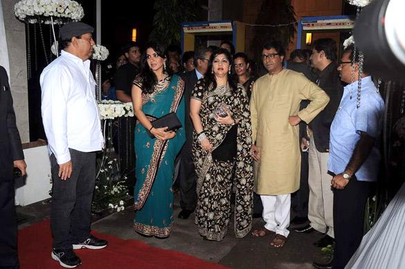 Fileshaina Nc Sharmila Thackeray Raj Thackeray At Esha Deols