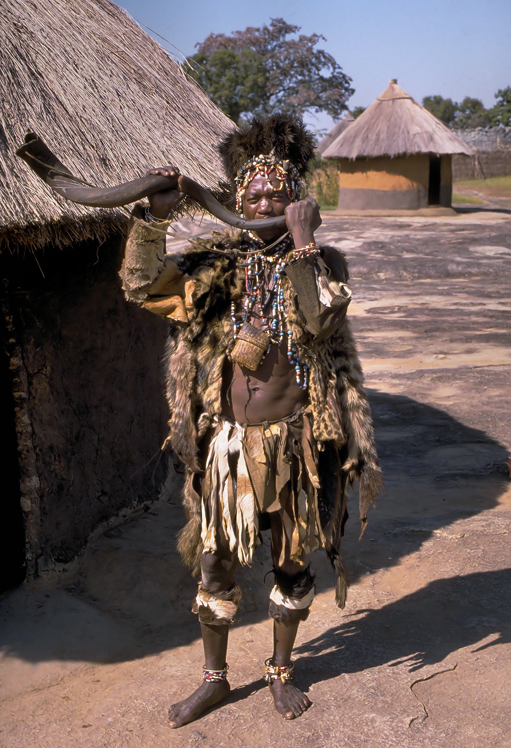 Shona Witch Doctor Zimbabwe